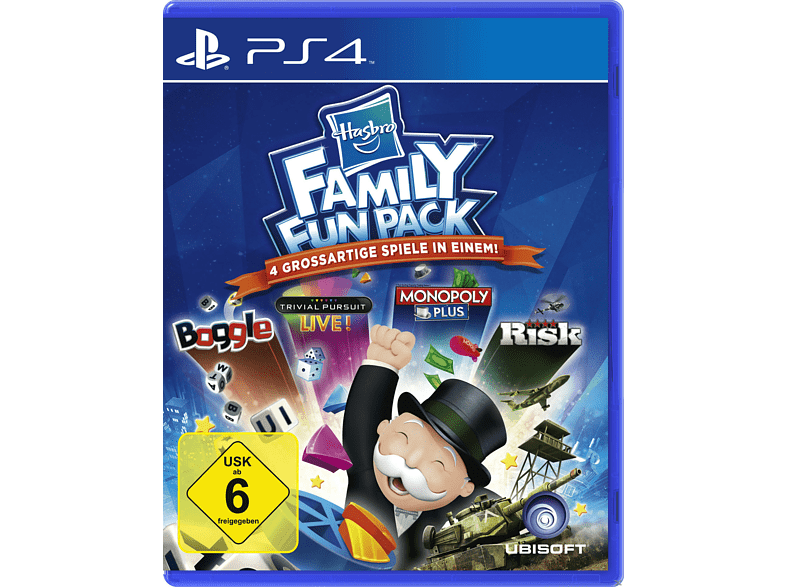 Hasbro Compilation (Software Pyramide) für PlayStation 4 online von Ubisoft