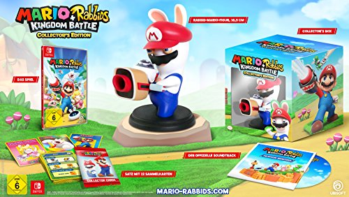 Mario & Rabbids Kingdom Battle - Collector's  Edition - [Nintendo Switch] von Ubisoft