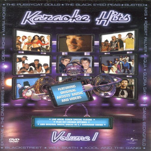 Various Artists - Karaoke Hits: Featuring Original Artist's Music and Video, Volume 01 von Universal/Music/DVD
