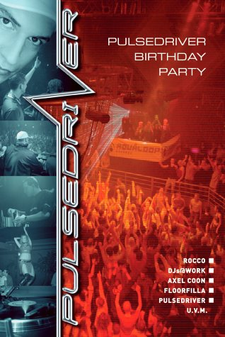 Various Artists - Pulsedriver Pres. B-Day von Universal/Music/DVD