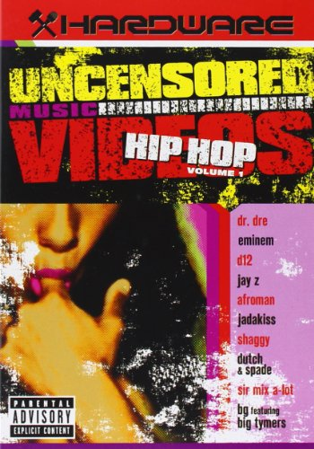 Various Artists - Uncensored Musicvideos: Hip Hop von Universal/Music/DVD
