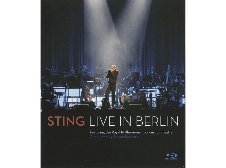 Sting, Royal Philharmonic Concert Orchestra - LIVE IN BERLIN [Blu-ray] von DEUTSCHE G