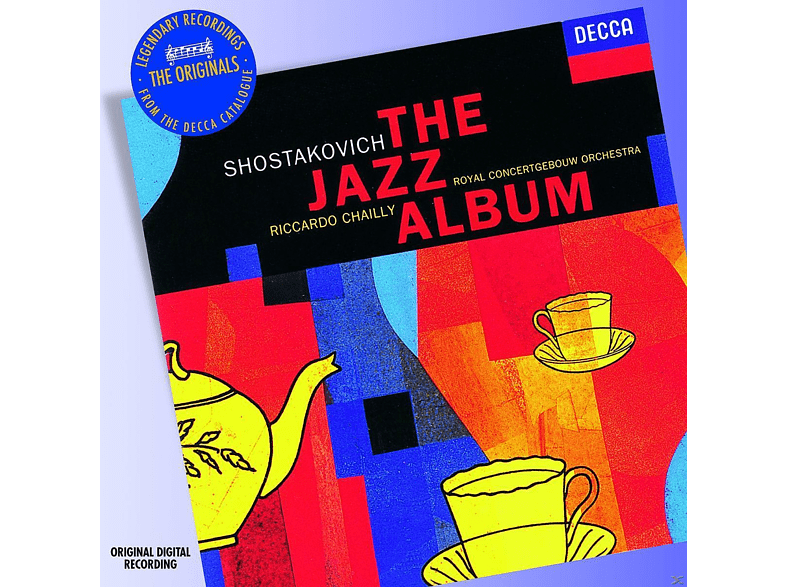 Riccardo Chailly, Ronald Brautigam, Royal Concertgebouw Orchestra, Peter Masseurs - The Jazz Album [CD] von DECCA