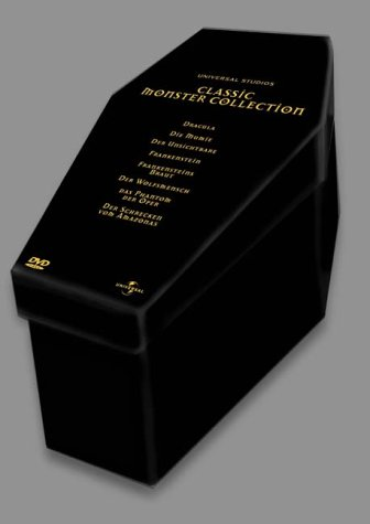 Classic Monster Collection - Box (Limited Collector's Edition) [8 DVDs] von Universal Pictures Germany GmbH