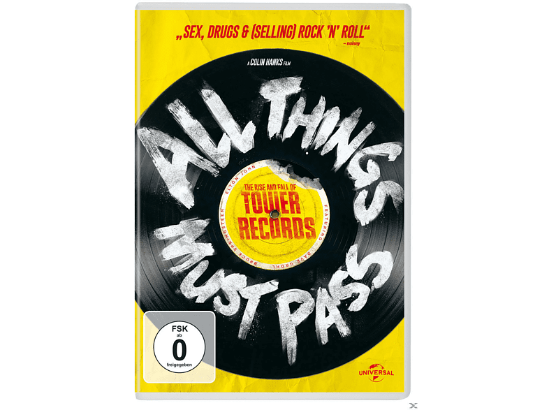 All Things Must Pass - The Rise And Fall [DVD] von UNI