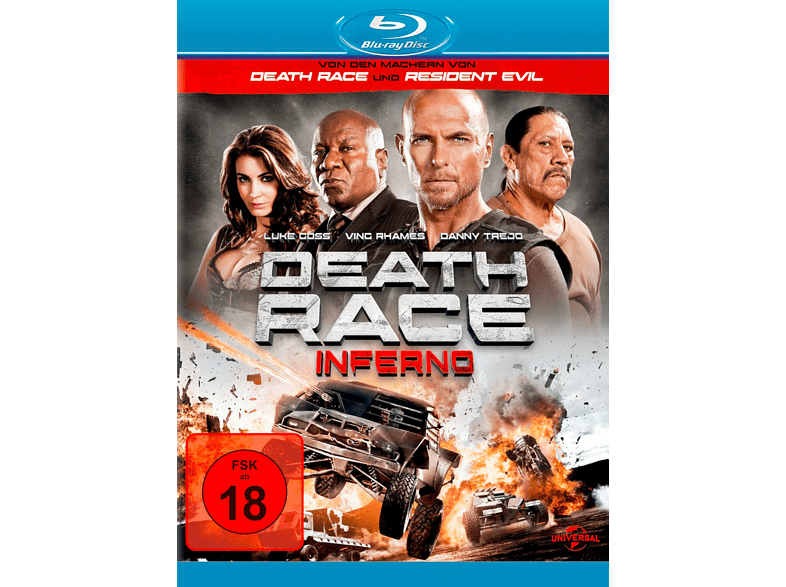 Death Race: Inferno [Blu-ray] von UNI