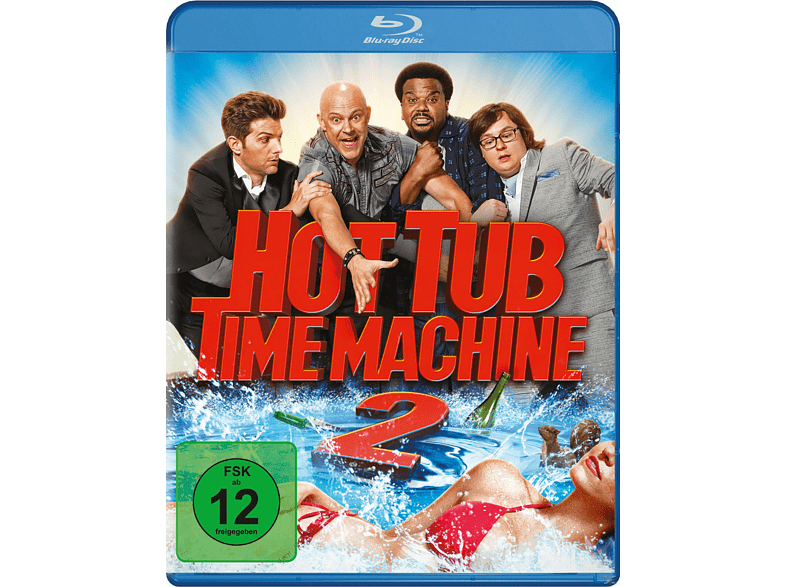Hot Tub Time Machine 2 [Blu-ray] von PHE