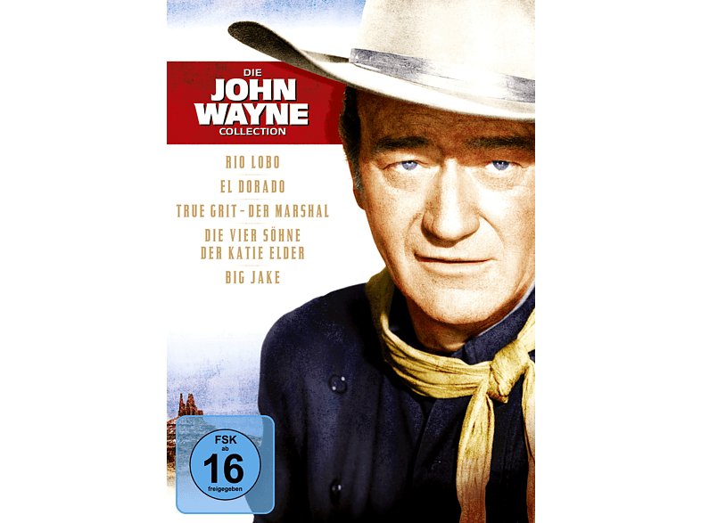 John Wayne Collection - Jubiläums-Box DVD-Box DVD von PHE