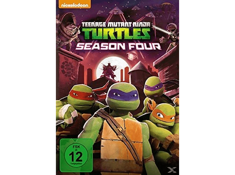 TEENAGE MUTANT NINJA TURTLES - 4. STAFFEL DVD von PHE