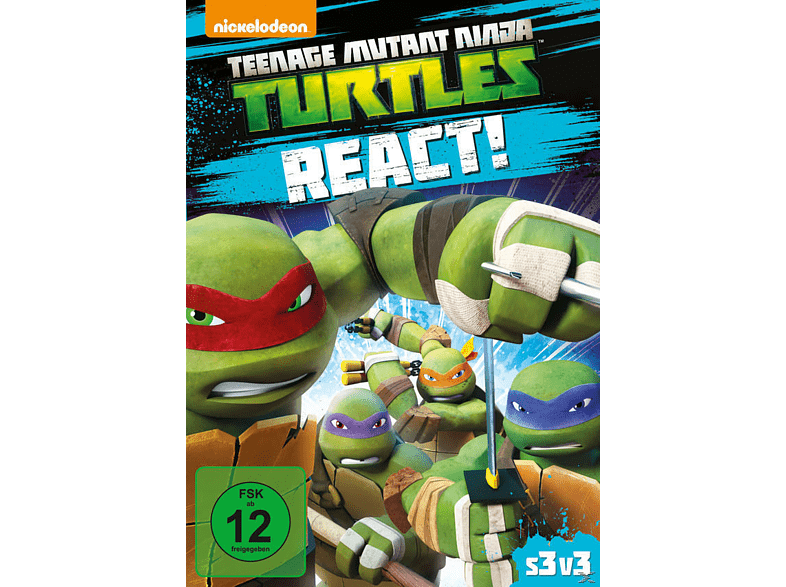 Teenage Mutant Ninja Turtles React - Staffel 3.3 DVD von PHE