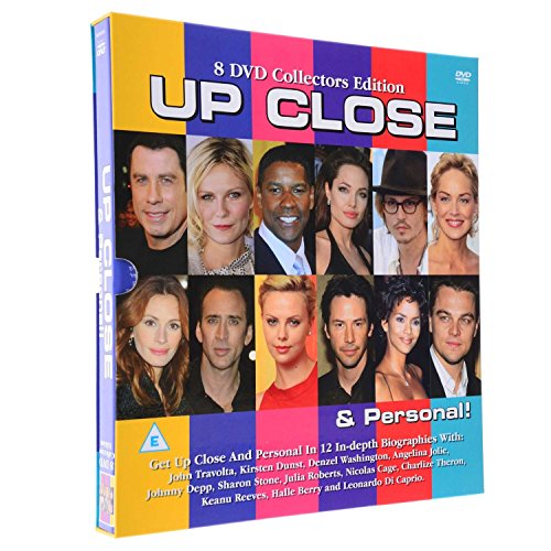 Up Close & Personal, 8 DVD Collection of 12 eingehender Celebrity Biographien von Unknown