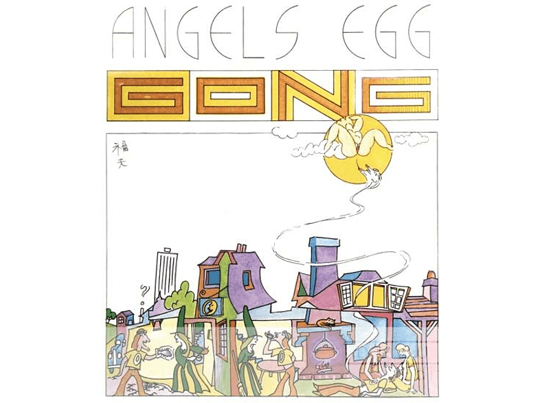 Gong - ANGEL'S EGG (DEL.ED.) (CD) von VIRGIN
