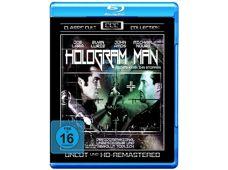 Hologram Man - Classic Cult Collection [Blu-ray] von VZ HANDELSGESELLSCHAFT MBH