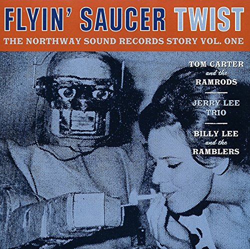 Flyin' Saucer Twist 7inch, 45rpm, EP, PS von Various