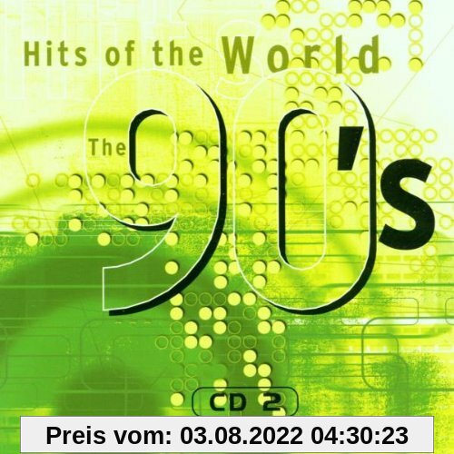 Hits of the World 90'S-Cd2 - Original Artists von Various