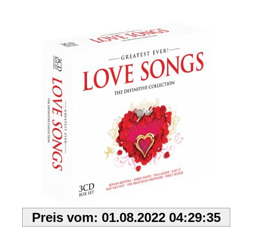 Love Songs-Greatest Ever von Various