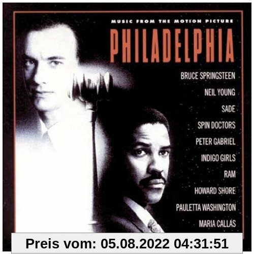 Philadelphia - Music from the Motion Picture von Various