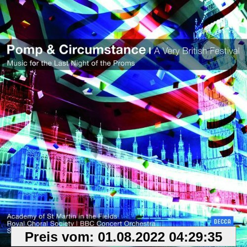 Pomp&Circumstance-A very British Festival (Classical Choice) von Various