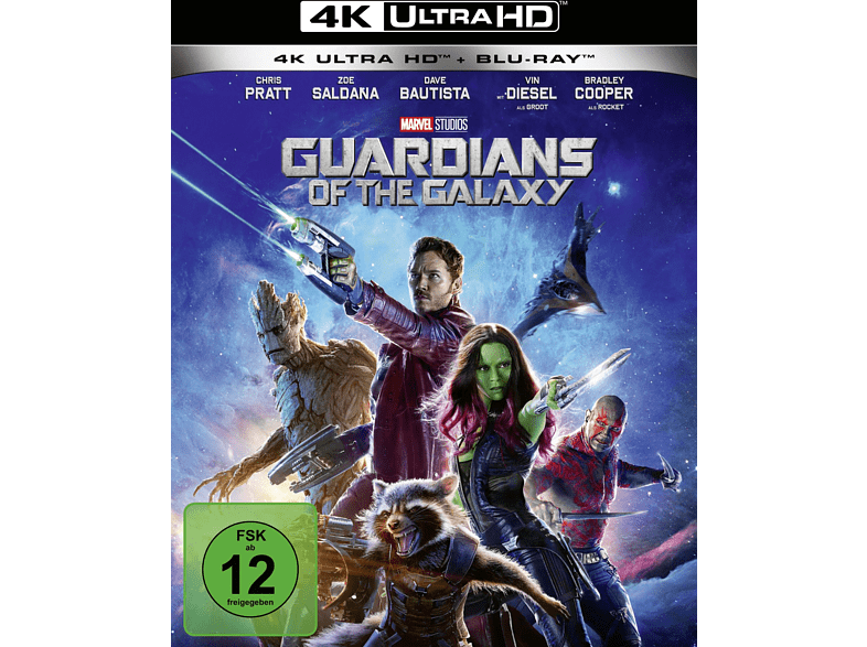 GUARDIANS OF THE GALAXY4K(UHD+2D)-UHD ST [4K Ultra HD Blu-ray + Blu-ray] von WALT DISNEY