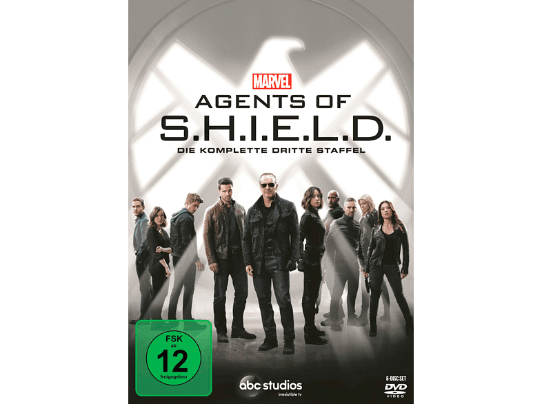 Marvel Agents Of S.h.i.e.l.d. - 3. Staffel [DVD] von WALT DISNEY