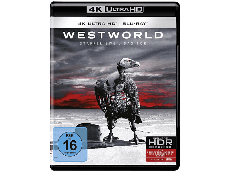 Westworld - Staffel 2: Das Tor [4K Ultra HD Blu-ray + Blu-ray] von WARNER BROS.