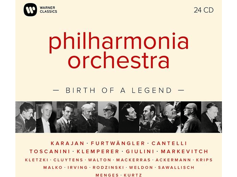 Philharmonia Orchestra-Birth of a Legend The Philharmonia Orchestra auf CD online von WARNER CLA