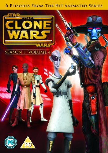 Star Wars - Clone Wars - Season 1 Volume 4 [UK Import] von WARNER HOME VIDEO
