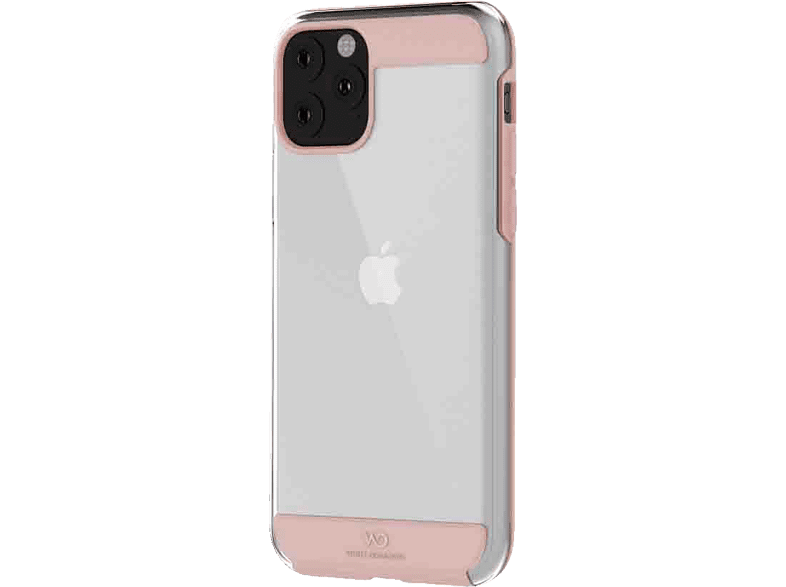 WHITE DIAMONDS Innocence Clear , Backcover, Apple, iPhone 11, Kunststoff, Polycarbonat, Thermoplastisches Polyurethan, Rosegold von WHITE DIAMONDS