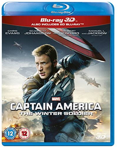 Captain America: The Winter Soldier [Blu-ray] [UK Import] von Walt Disney Studios HE