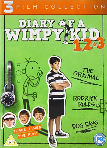 Diary Of A Wimpy Kid 1 - 3 Boxset DVD [UK Import] von Walt Disney Studios HE
