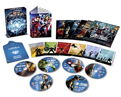 Marvel Cinematic Universe Phase 1 [UK Import] von Walt Disney Studios HE