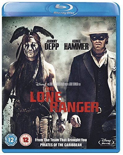 The Lone Ranger [Blu-ray] [UK Import] von Walt Disney Studios HE