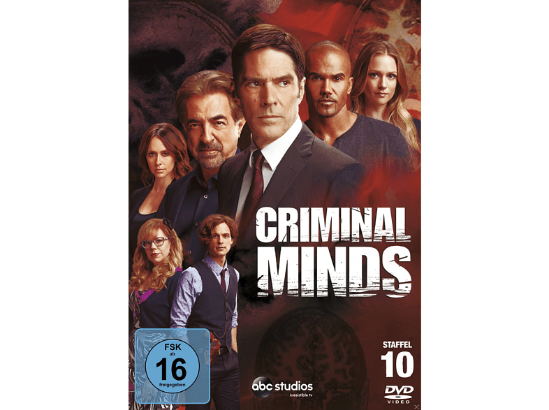 Criminal Minds 10. Staffel [DVD] von WALT DISNEY