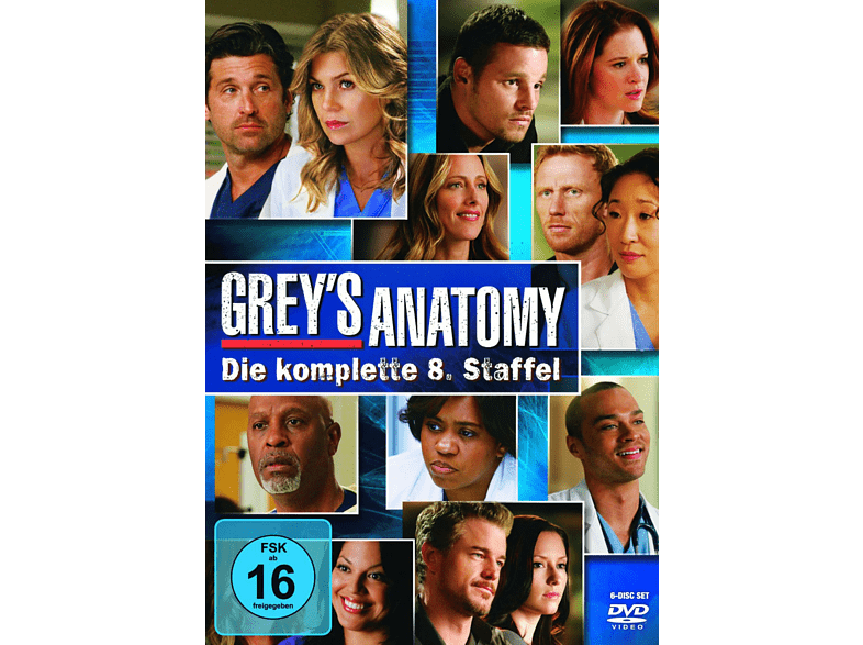 Greys Anatomy - Staffel 8 [DVD] von WALT DISNEY