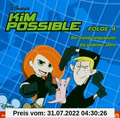 Disney's Kim Possible 04. CD von Walt Disney