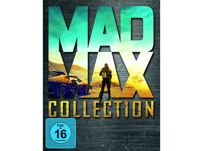 Mad Max Collection (1-3 & Fury Road) [Blu-ray] von COMBINED PACKS