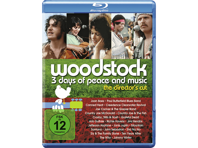 Woodstock - 3 Days of Peace and Music [Blu-ray] von WARNER BROS.