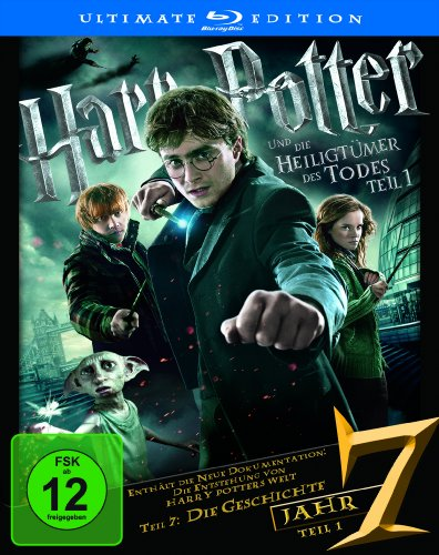 Harry Potter und die Heiligtümer des Todes Teil 1 (Ultimate Edition) [Blu-ray] von Warner Home Video - DVD