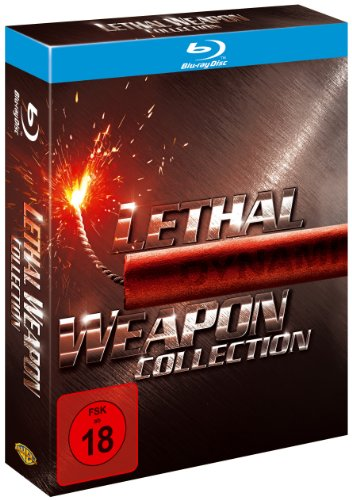 Lethal Weapon 1-4 - Collection [Blu-ray] von Warner Bros (Universal Pictures)