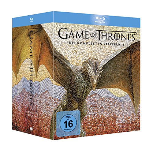 Game of Thrones Staffel 1-6 Digipack + Fotobuch + Bonusdiscs (exklusiv bei Amazon.de) [Blu-ray] [Limited Edition] von Warner Home Video