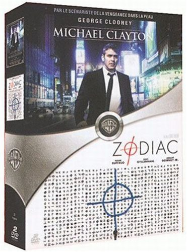 Michael Clayton - Zodiac : Coffret 2 DVD [FR Import] von Warner Home Video