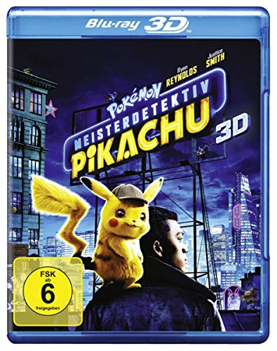 Pokémon Meisterdetektiv Pikachu (3D) [3D Blu-ray] von Warner Home Video