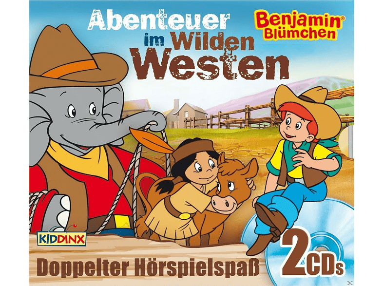 Benjamin Blumchen - Cowboy-Special:..als Cowboy/..als Sheriff - (CD) von KIDDINX ENTERTAINMENT