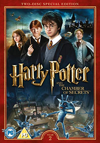 Harry Potter and the Chamber of Secrets (2016 Edition) [DVD] UK-Import, Sprache-Englisch von Warner Video