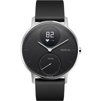Withings Steel HR Smartwatch - 36 mm Black von Withings