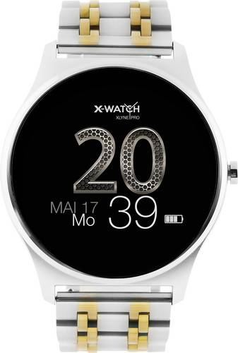X-WATCH Joli XW PRO Smartwatch 45mm Silber von X-WATCH