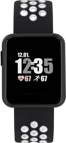 X-WATCH Keto Sun Reflect Smartwatch Schwarz von X-WATCH