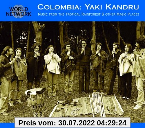 Music From the Tropical Rain Forest (World Network Colombia 13) von Yaki Kandru