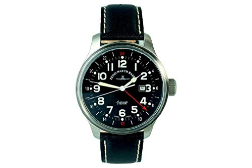 Zeno-Watch Herrenuhr - OS Pilot GMT (Dual Time) - 8563-a1 von Zeno Watch Basel