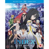 A Certain Magical Index: The Movie - The Miracle of Endymion Blu-ray/DVD Combo von Manga Entertainment